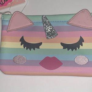 Betsey Johnson Bags - Betsey Unicorn Pouch/Wristlet